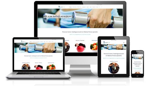 Webdesign Medifit 4 You