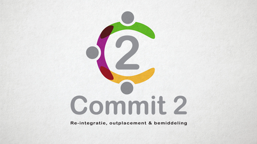 Logo ontwerp Commit-2, Leiden