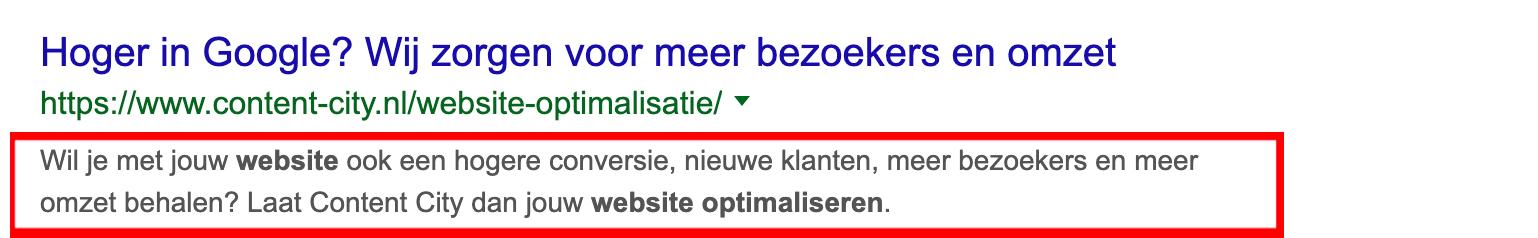 Hoger-in-Google-website-optimalisatie-Meta-Description