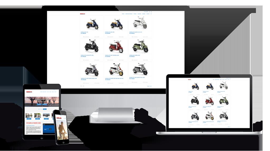 WordPress-WooCommerce-Webshop-Fietsen-en-scooter-winkel-Leiden