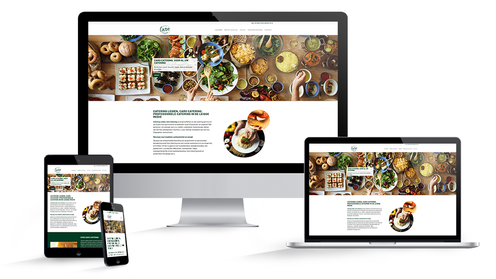 WordPress-website-Caro-Catering