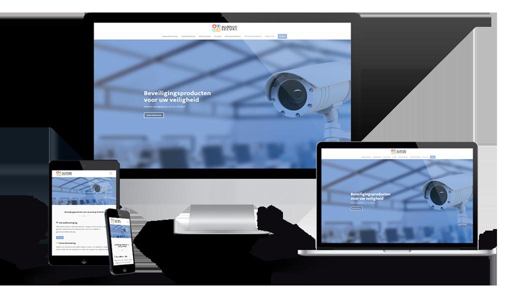 WordPress-website-Inbraakbeveiligingsbedrijf